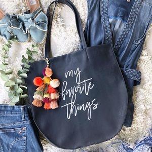 Anthropologie Favorite Things Purse Tote Bag
